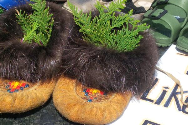 Children's moccasins